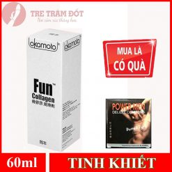 Gel bôi trơn Okamoto fun collagen